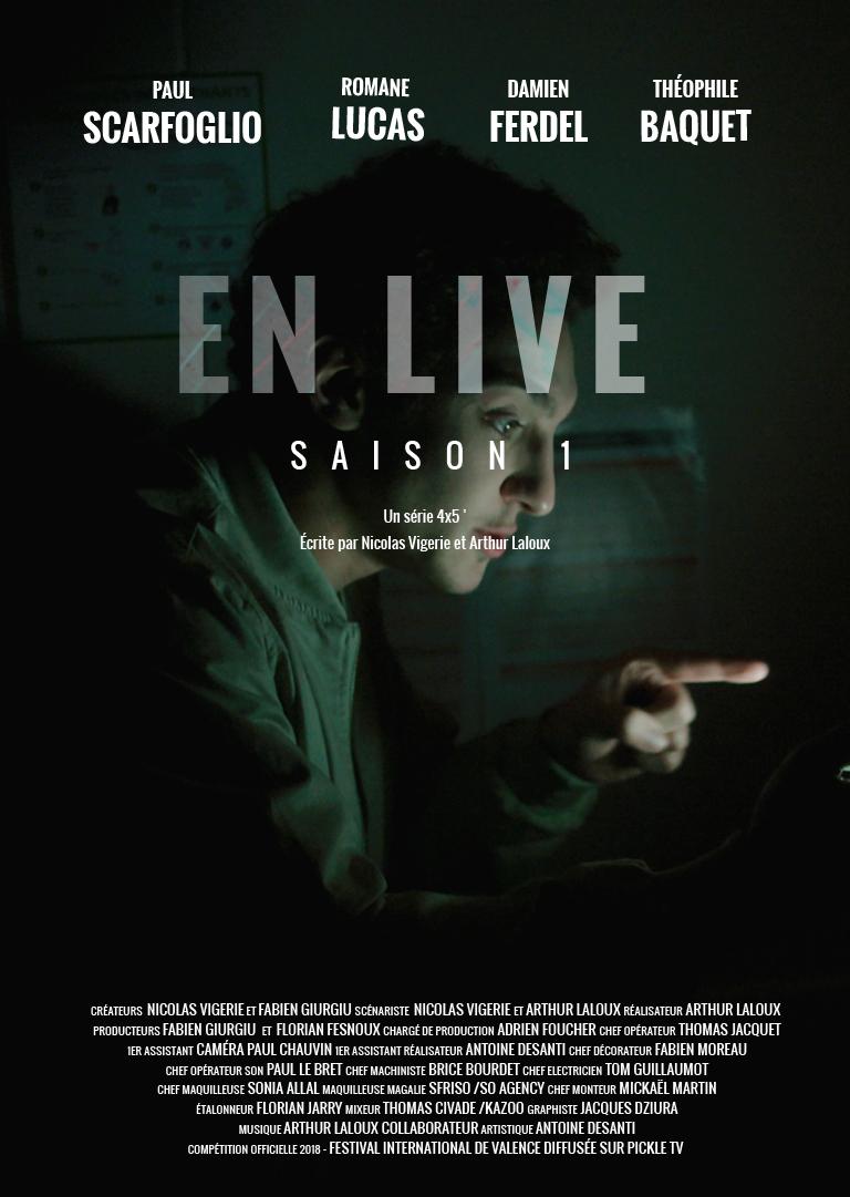 Affiche En Live saison 1