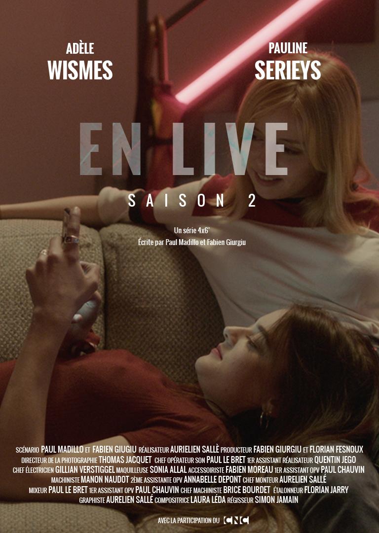 affiche série En Live saison 2 End television
