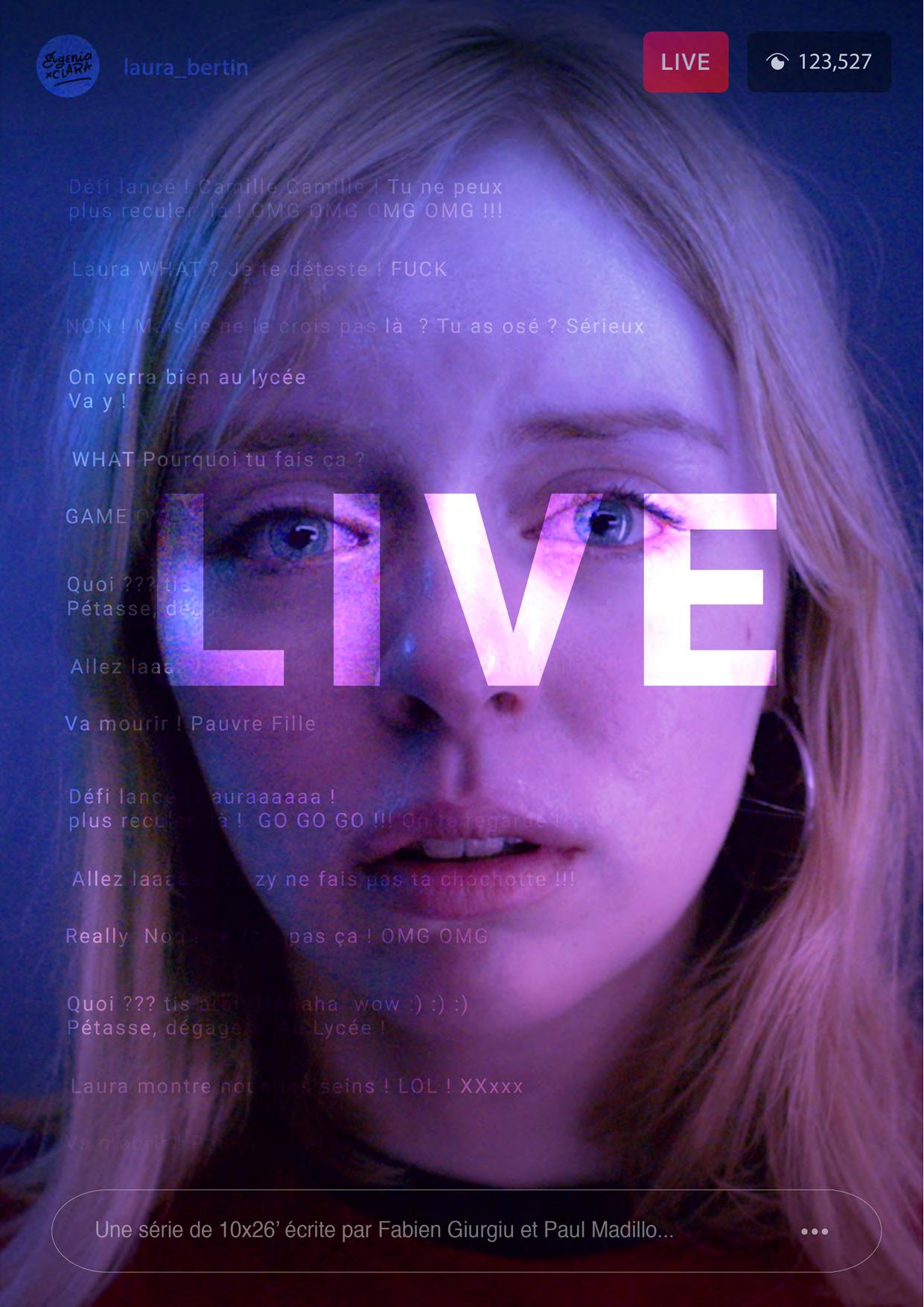 affiche série En Live saison 2