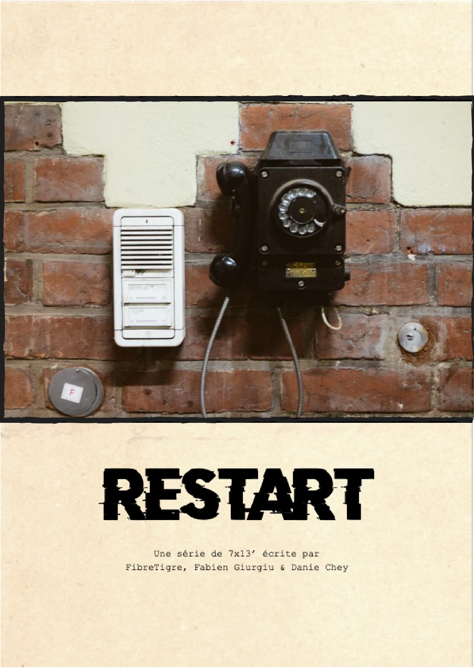 affiche série Restart