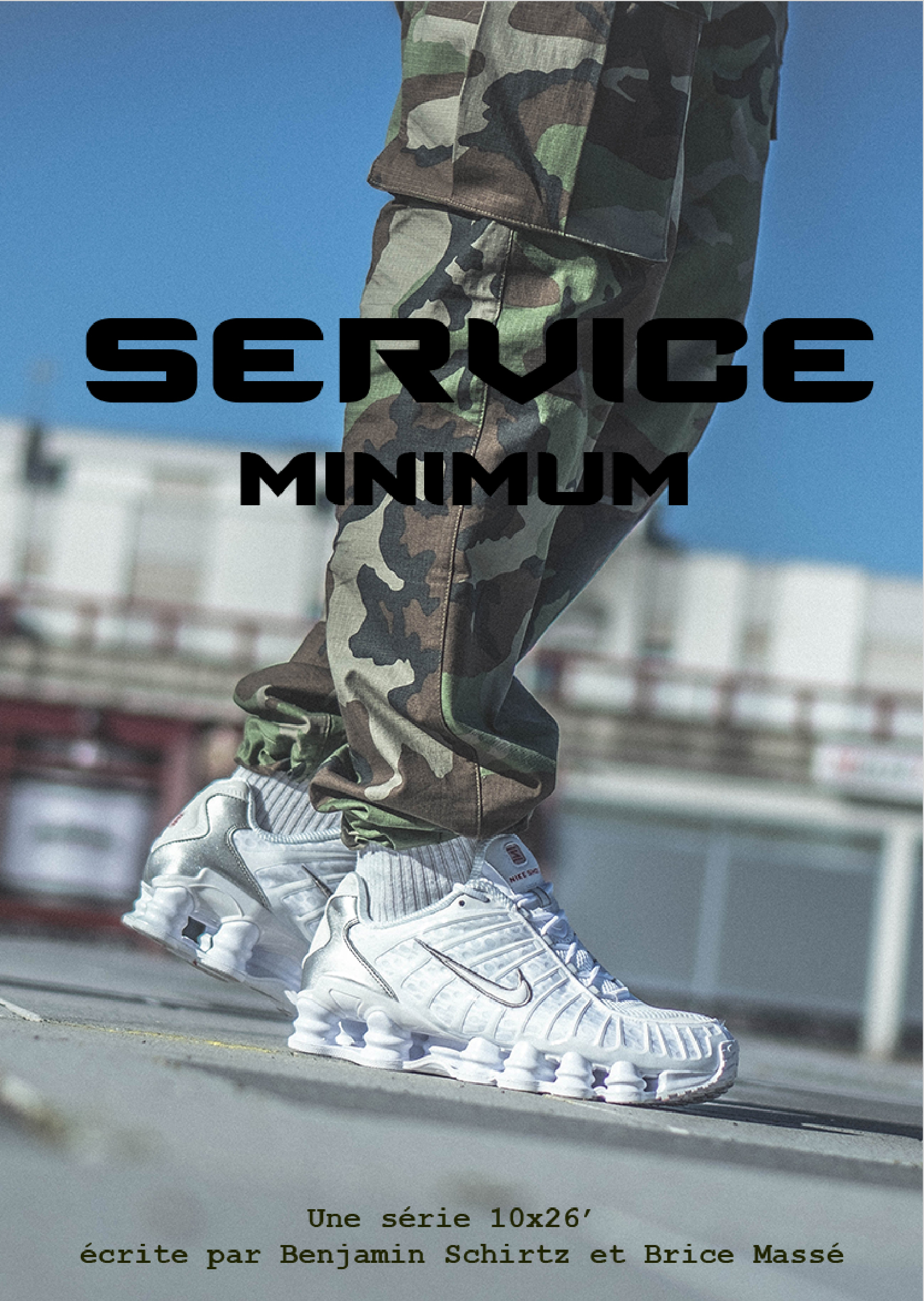 affiche série service minimim